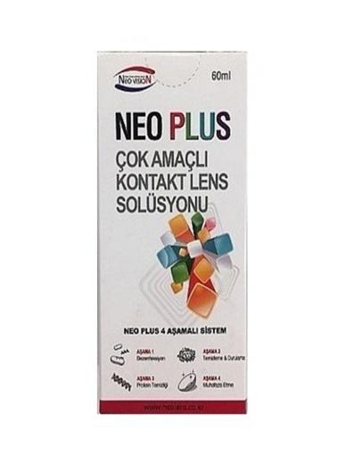 Neo Plus Neo Plus Çok AmaÇlı Kontak Lens Solüsyonu 60 ml Renksiz